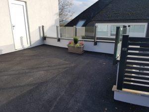 Geländer mit Sicherheitsglas und Glass-Clips (1)